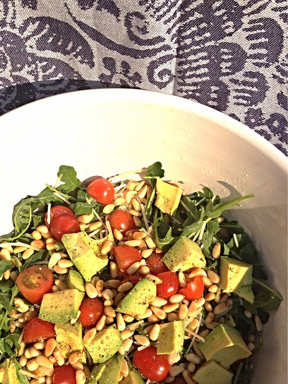 Summer Arugula Salad with Avocado